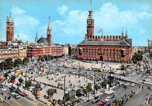 Town Hall Square Copenhagen Denmark Unused