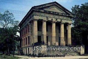 Bank, Old Shawneetown - Illinois IL