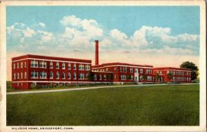 Hillside Home Institute Bridgeport CT c1917 Vintage Postcard Q07