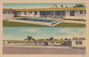 Florida West Palm Beach Brown Dal Motor Lodge