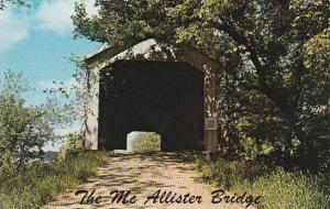 Indiana Rockville The Mc Allister Covered bridge