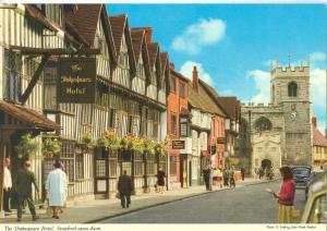 UK, The Shakespeare Hotel, Stratford-upon-Avon, 1960s unused Postcard