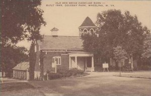 West Virginia Wheeling Oglebay Park Old Red Brick Carriage Barn Artvue