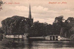 St Mary's Church,Stratford-on-Avon,England,UK