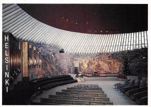 Finland Helsinki Temppeliaukio Church Temppeliaukion Kirkko