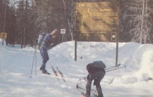 La Maurice Nat. Park, Quebec, Canada, 40-60s; Cross-Country Skiing