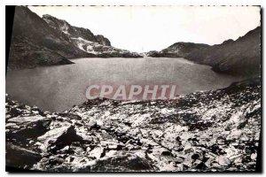 Old Postcard Massif des Sept Laux Allevard Surroundings Lake Cotepen