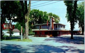 CALAIS, Maine  ME   Roadside  INTERNATIONAL MOTEL  1965     Postcard