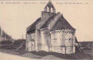 Saint-Aignan (Loir et Cher), France, 1900-1910s ; L'Eglise, St-Lazare, XII Si...