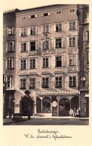 Salzburg Austria Mozarts Geburtshaus Salzburg Mozarts Geburtshaus