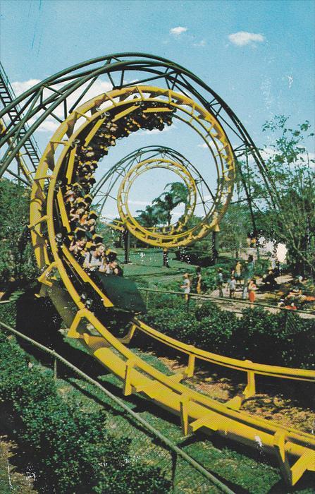 Python, Thrill Ride, Busch Gardens, TAMPA, Florida, 40-60´