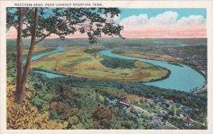 Tennessee Chattanooga Moccasin Bend From Lookout Mountain