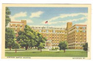 Kentucky Baptist Hospital , Louisville , KY , 30-40s