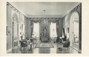 Living Room & Boudoir ~ The Art Institute Of Chicago Illinois ~ Vintage Postcard