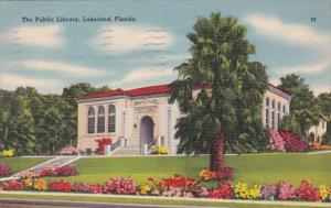 Florida Lakeland The Public Library 1942