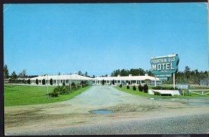 GA Fountain Glo Motel 3 Miles North of JESUP on U.S. Route No. 301 1950s-1970s