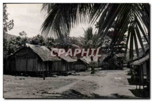 Old Postcard Madagascar Malagasy Tanan Village