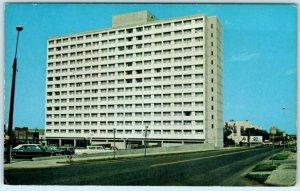 MINOT, North Dakota ND Retirement Home MILTON YOUNG TOWERS ca 1970s Postcard