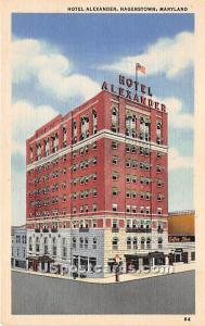 Hotel Alexander Hagerstown MD Unused