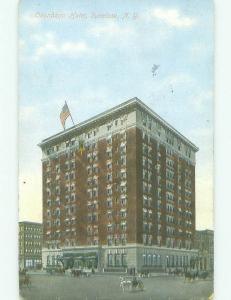 Divided Back ONONDAGA HOTEL Syracuse New York NY HQ4982