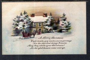 Christmas Sleigh Scene