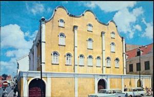 curacao, N.W.I., Mikve Israel-Emanuel Synagogue (1960s) JUDAICA