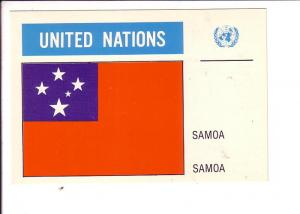 Samoa United Nations Flag