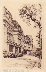 Piccadilly And The Park Lane Hotel, London, England, UK, PU-1959