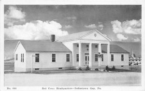 Red Cross Post Card Red Cross Headquarters Indiantown Gap, PA USA 1944