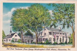 Virginia Alexandria Old Club Teahouse