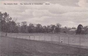 Connecticut Storrs The Athletic Field The University Of Connecticut Albertype