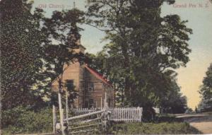 The Old Church - Grand Pre NS, Nova Scotia, Canada - pm 1908 - DB