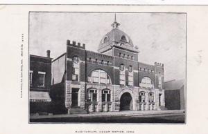 Iowa Cedar Rapids Auditorium