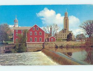 Unused Pre-1980 CITY HALL SCENE Pawtucket Rhode Island RI hs5709-12