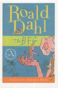 The BFG Roald Dahl 2007 Puffin Book Postcard