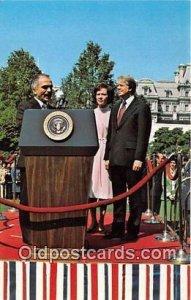 King Hussein of Jordan, President Carter Unused
