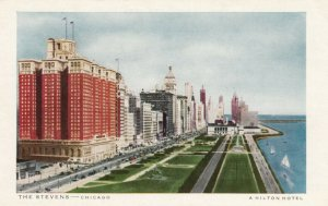CHICAGO, Illinois, 1910-20s; The Stevens, A Hilton Hotel