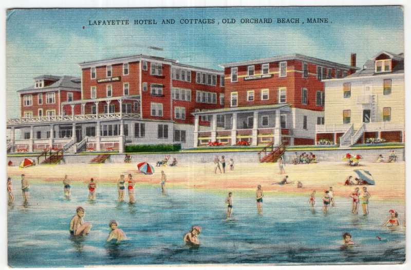Old Orchard Beach, Maine, Lafayette Hotel and Cottages