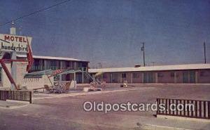 Thunderbird Motel, Marfa, TX, USA Motel Hotel Postcard Post Card Old Vintage ...