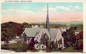 ALL SOULS CHURCH BANGOR, ME 1936