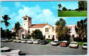 PLANTATION, Florida  FL    FORT LAUDERDALE COUNTRY CLUB  ca 1960s  Postcard