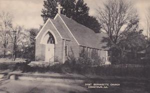 CEDARTOWN , Georgia ,1910-30s ; Saint Bernadette Church