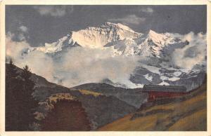BR36226 Die Jungfrau im Abeadlicht      Switzerland