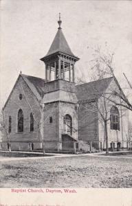 DAYTON , Washington , 00-10s , Baptist Church