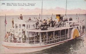California Avalon Santa Catalina Island Glass Bottom Boat Empress