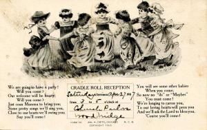 Cradle Roll Reception Announcement