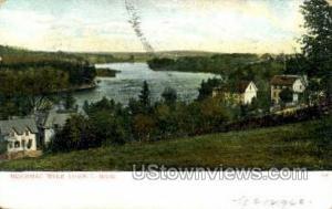 Merrimac River Lowell MA 1907