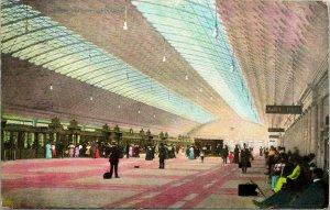 Vtg Postkarte 1909 Neu Union Station Concourse - Washington Dc