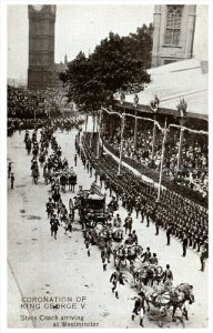 England Westminister  Coronation of King George V parade