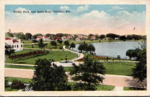 Florida Orlando Public Park and Lake Eola